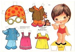 bonecas de papel 8 300x208 - Brincando com bonecas de papel