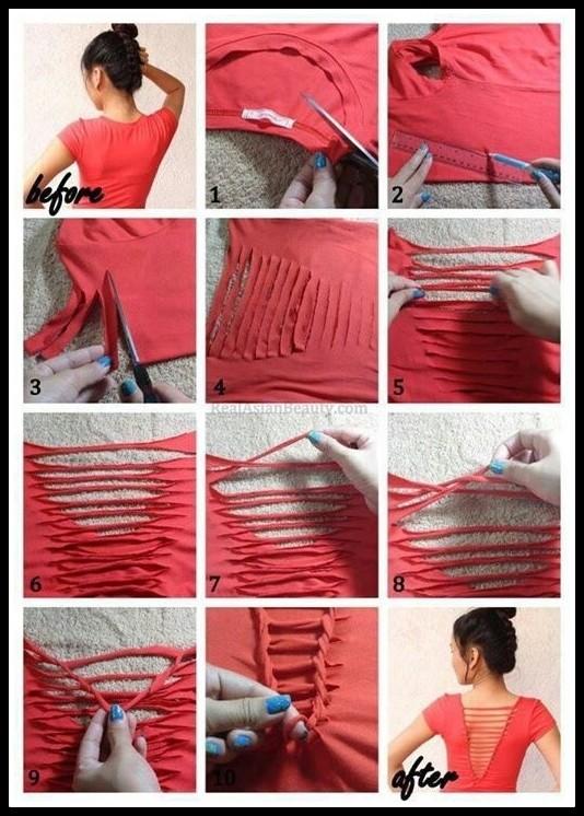 blusa vermelha - FAÇA VOCÊ MESMA UMA TRANSFORMAÇÃO EM SUAS ROUPAS