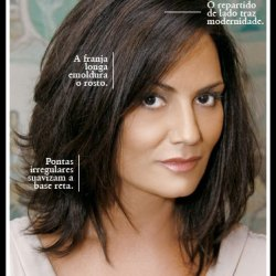 cabelos corte camadas que criam glamour - CORTES PARA OS FIOS DE ACORDO COM O TIPO E O FORMATO DO ROSTO