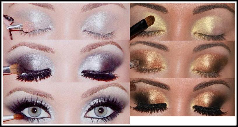 como fazer maquiagens para réveillon passo a passo - PASSO A PASSO DE  MAQUIAGENS VARIADAS PARA AS FESTAS DE FINAL DE ANO