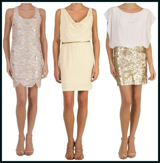 roupas douradas para ano novo - ROUPAS PARA A VIRADA DO ANO