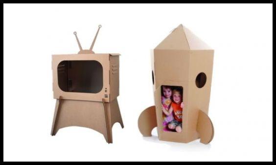 Como Fazer Brinquedos com Caixa de Papelão 51 - FAÇA VOCÊ MESMA BRINCADEIRAS PARA AS CRIANÇAS USANDO PAPELÃO