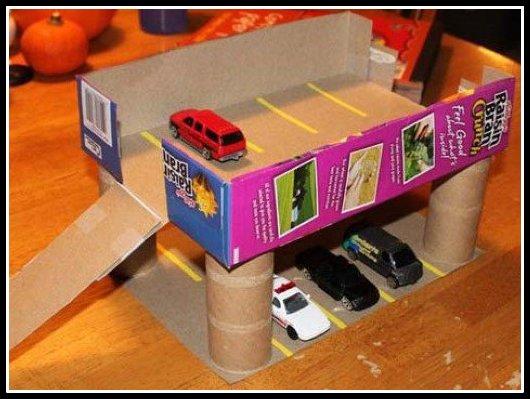 garagem-de-papelão
