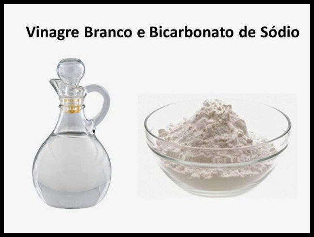 Vinagre Branco e Bicarbonato de Sódio - COMO USAR O VINAGRE E O BICARBONATO NA LIMPEZA DA CASA E DAS ROUPAS