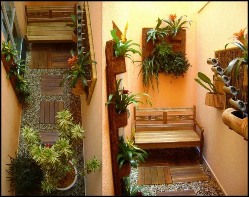 jardim vertical no corredor - FAÇA SEU JARDIM EM QUALQUER CANTO