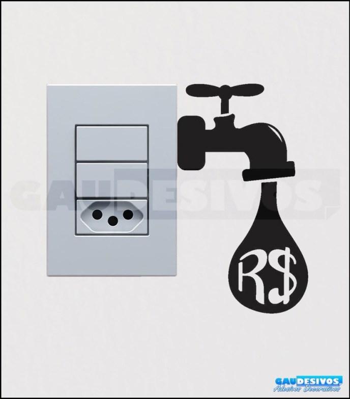 adesivos decorativos de tomadas interruptores gato cozinha 13808 MLB3450968258 112012 F - COMO DECORAR GASTANDO POUCO COM ADESIVOS
