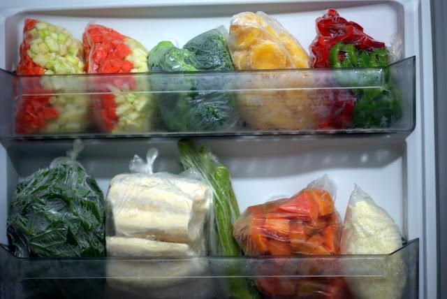alimentos congelados - DICAS NA COZINHA:COMO CONGELAR  E DESCONGELAR OS ALIMENTOS