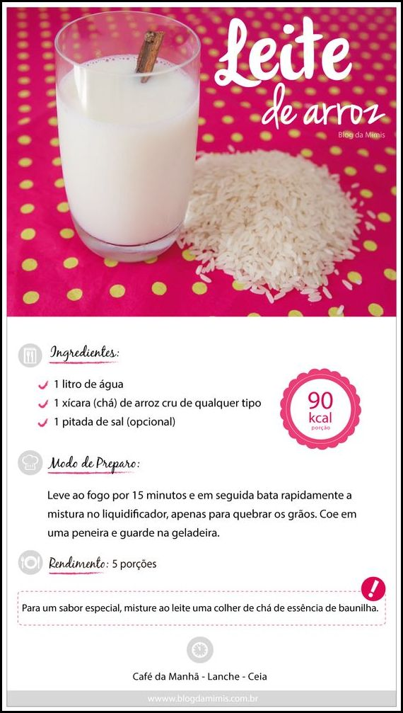 leite de arroz.blogdamimicombr