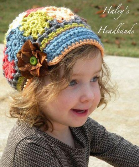 chapeus de crochê infantil - LINDOS MODELOS DE CHAPÉUS DE CROCHÊS INFANTIS