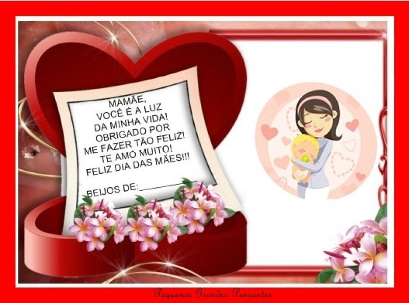 cartão dia das mães.2 - FAÇA VOCÊ MESMA LEMBRANÇAS E CARTÕES PARA O DIA DAS MÃES