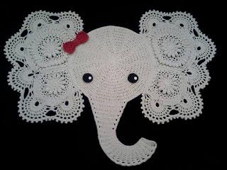 elefante1 1 - TAPETE DE CROCHÊ DE ELEFANTE COM GRÁFICO E RECEITA
