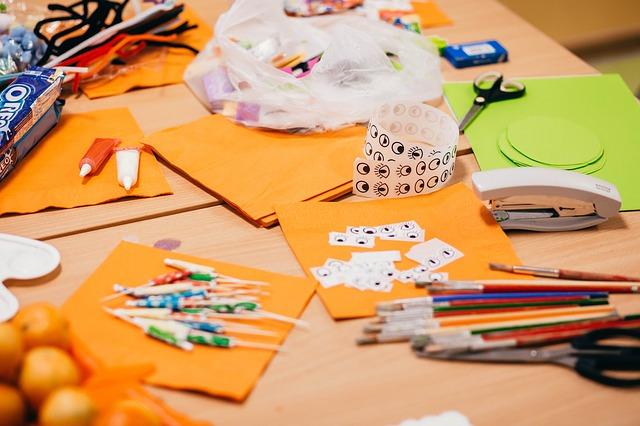 artesanato para criancas2 - Como criar ideia de artesanato para crianças se envolverem