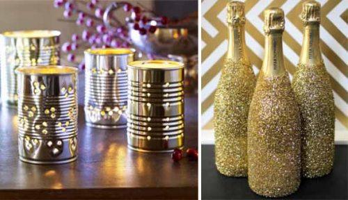 Ano novo mesa 6b e1608138119472 - Decoração para Natal e Ano Novo: baratas e fáceis
