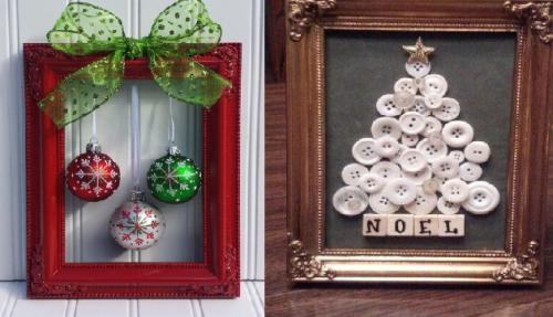Dupla pendurar quadros 2 e1608129310130 - Decoração para Natal e Ano Novo: baratas e fáceis