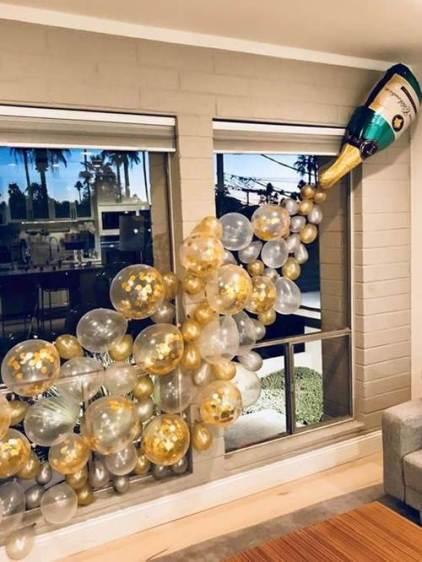 ano novo decoracao - Decoração para Natal e Ano Novo: baratas e fáceis