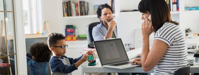 imagem destacada 1 e1612215382156 - Dicas de como conciliar home office com filhos pequenos