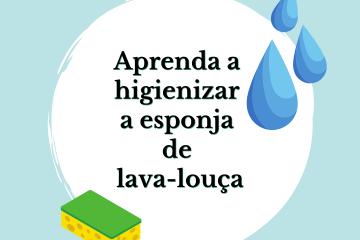 1 2 - APRENDA A HIGIENIZAR A ESPONJA DE LAVA-LOUÇA