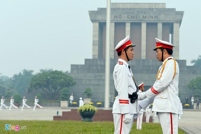 Thi thể của cố Chủ tịch Hồ Chí Minh hiện đang được bảo quản và trưng bày tại một lăng mộ đặc biệt, nằm trong trung tâm chính trị Ba Đình, Hà Nội. Ảnh: Zing.vn