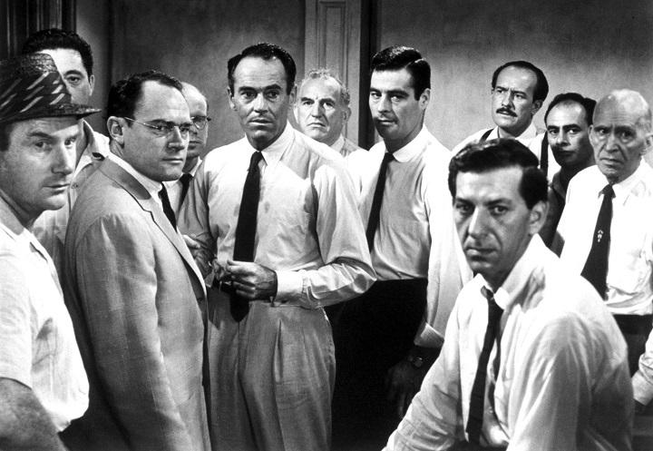 """Một cảnh trong phim """"12 người đàn ông nổi giận"""". Ảnh: Chưa rõ nguồn."""