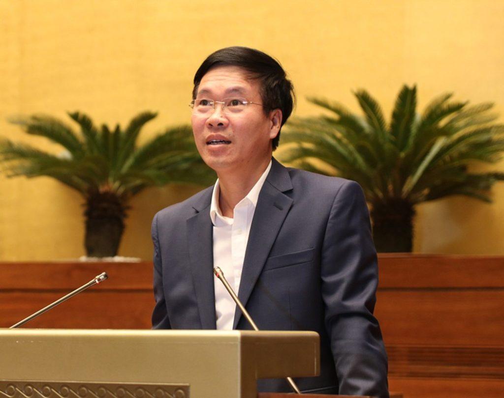 Trưởng ban Tuyên giáo Trung ương Võ Văn Thưởng, người tỏ ra quyết liệt nhất trong việc quy hoạch báo chí. Ảnh: Giáo dục Việt Nam.