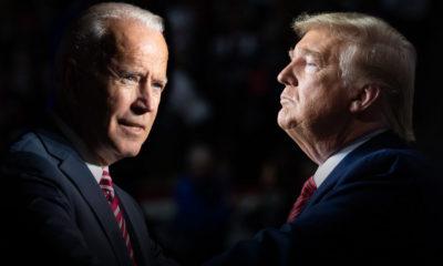 Ông Jode Biden và ông Donald Trump. Ảnh: Getty.