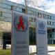 Trụ sở của WHO tại Geneva, Thụy Sĩ, ngày 8/4/2019. Ảnh: AP.