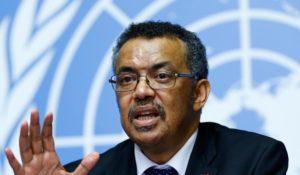 Ông Tedros Adhanom Ghebreyesus, Tổng Giám đốc Tổ chức Y tế Thế giới (WHO). Ảnh: France24.