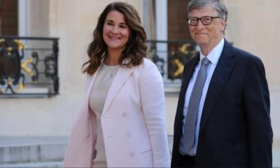 Bà Melinda Gates và chồng, Bill Gates. Ảnh: CBS.