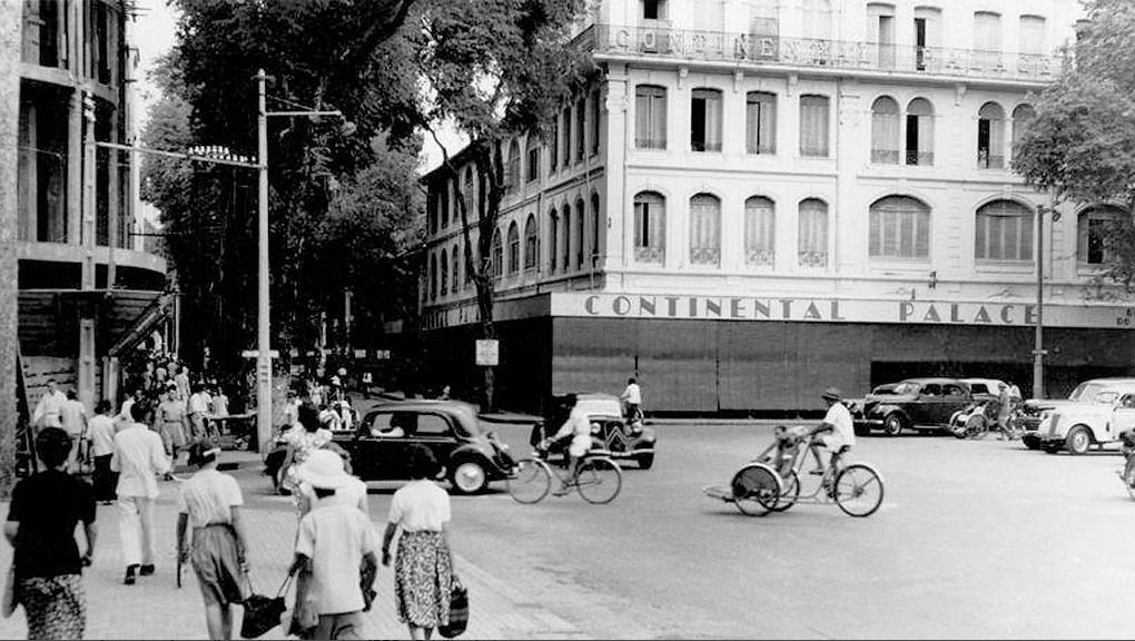 Một góc Sài Gòn những năm 1950. Ảnh: Flickr/Chưa rõ nguồn.