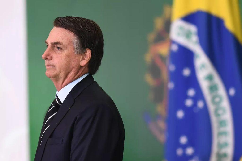 Tổng thống Brazil Jair Bolsonaro. Ảnh: Evaristo Sa/AFP/Getty Images.