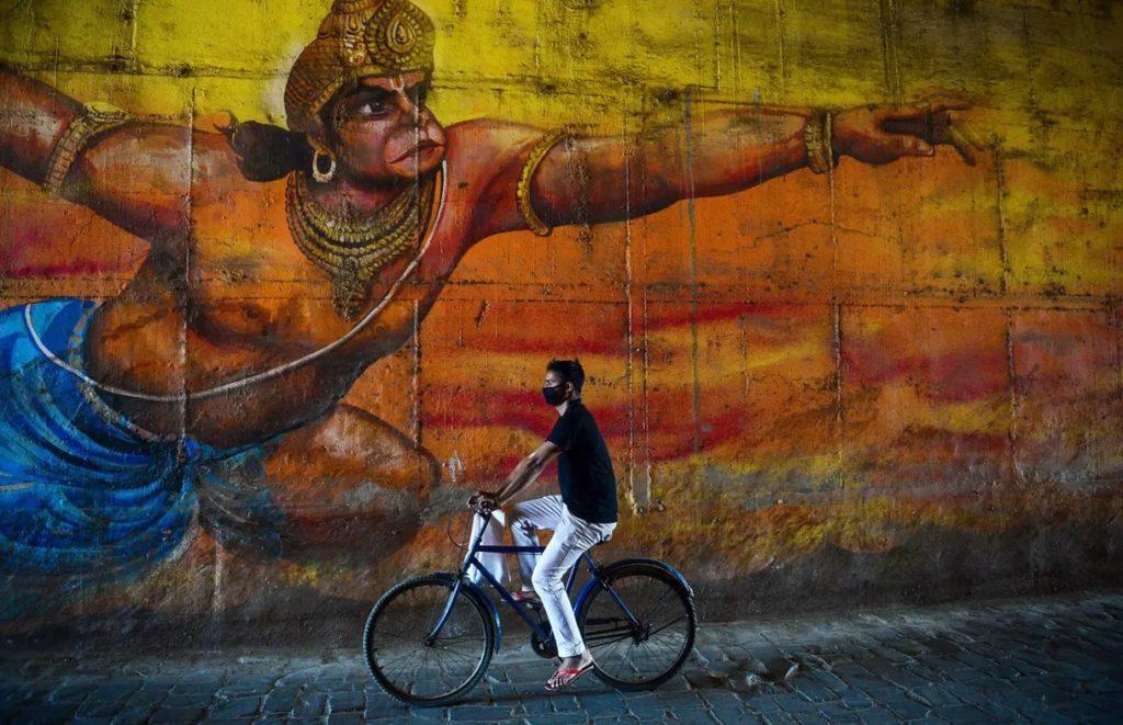 Allahabad, Ấn Độ, ngày 18/3/2020. Ảnh: AFP/Getty Images.