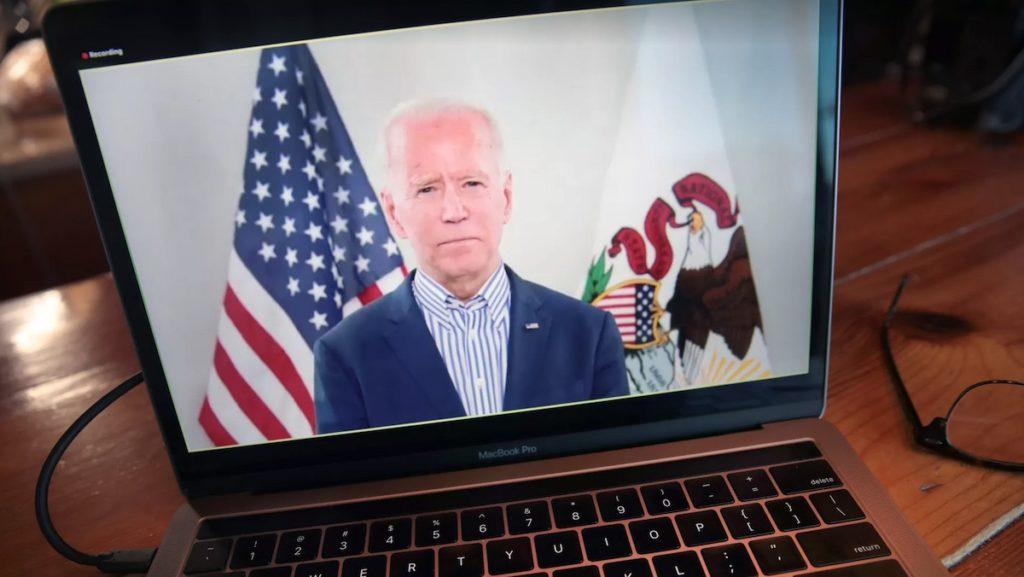 Ứng viên tổng thống của Đảng Dân chủ, ông Joe Biden. Photo: Scott Olson / Staff