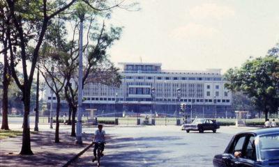 Dinh Độc lập thời Việt Nam Cộng hòa, nơi được coi là phủ tổng thống và biểu tượng của chính quyền. Ảnh: Chưa rõ nguồn.