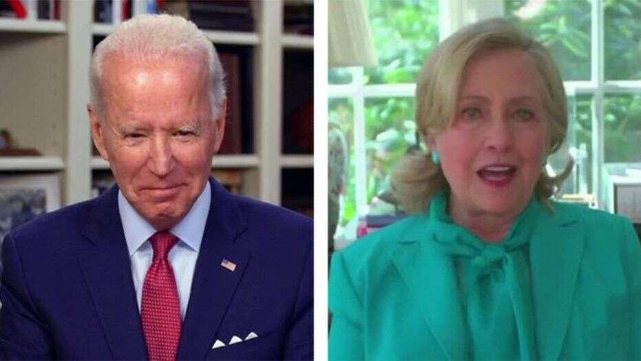 Ông Joe Biden và bà Hillary Clinton. Ảnh: FoxNews.