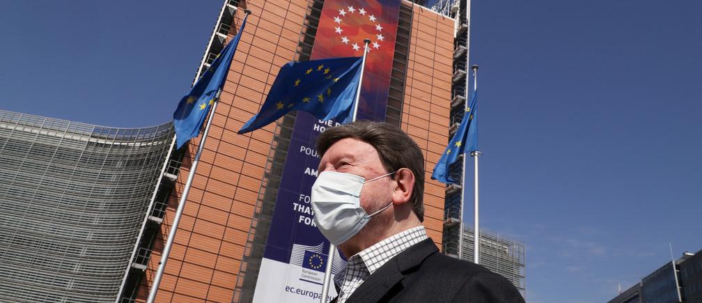 Trụ sở Liên minh Châu Âu ở Brussels, Bỉ. Ảnh: EU.