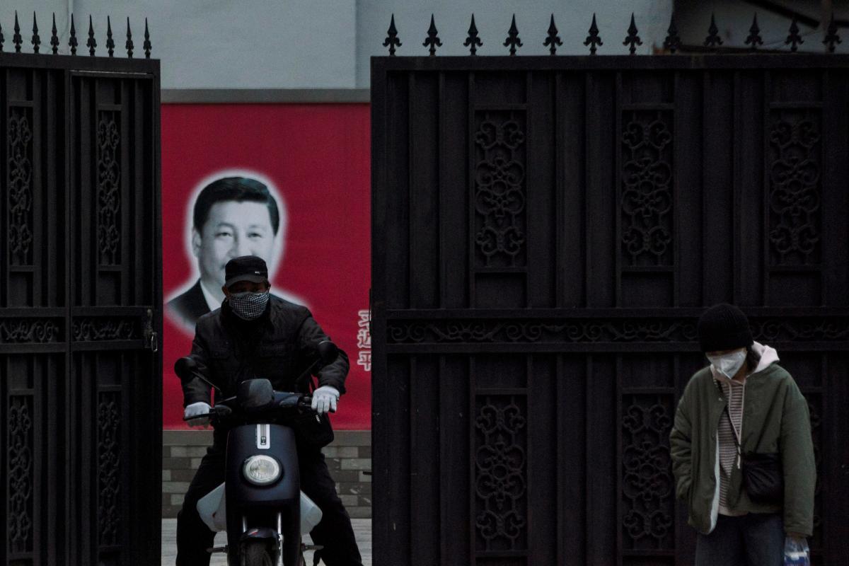 Thượng Hải, Trung Quốc, tháng 2/2020. Ảnh: Reuters.
