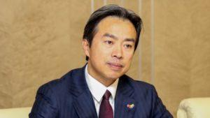Đại sứ Du Wei. Ảnh: mvs.gov.ua.