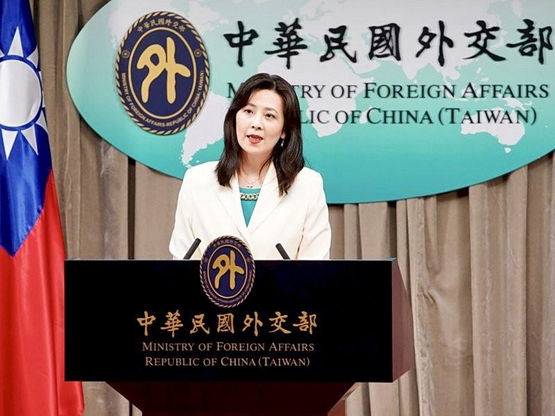 Một cuộc họp báo tại Bộ Ngoại giao Đài Loan. Ảnh: MOFA.gov.tw,