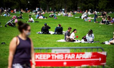 Công viên Trung tâm ở New York. Ảnh: Reuters.