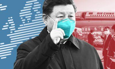 Trung Quốc có thể tranh thủ COVID-19 để giành thêm được quyền lãnh đạo thế giới? Ảnh: FT.