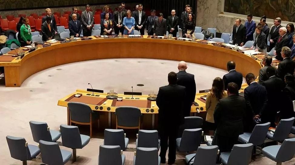 Một cuộc họp tại Hội đồng Bảo an Liên Hợp Quốc ngày 10/3/2020. Ảnh: Reuters.