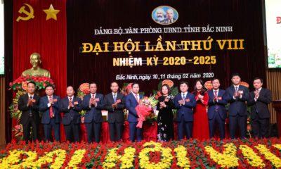 Đại hội lần thứ VIII, nhiệm kỳ 2020-2025 của Đảng bộ Văn phòng UBND tỉnh Bắc Ninh, tháng 2/2020. Ảnh: baotintuc.vn.