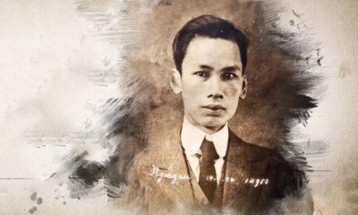 Nguyễn Ái Quốc thời còn ở Pháp. Ảnh: VTV.