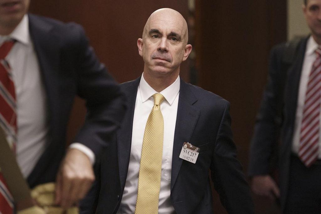 Cựu tổng thanh tra Bộ Ngoại giao Mỹ Steve Linick. Ảnh: AP.