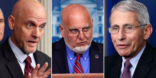 Ba quan chức Nhà Trắng đang tự cách ly. Ảnh: Fox News.