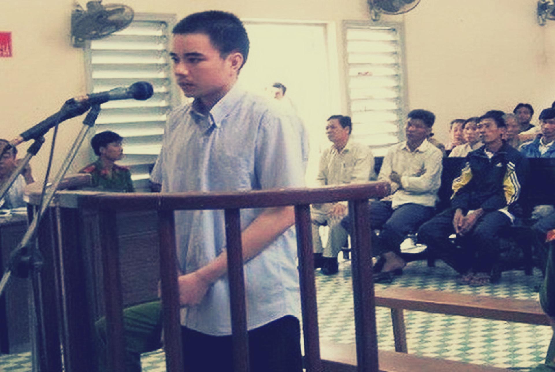 Hồ Duy Hải trong một phiên tòa trước đây. Ảnh: PLO.