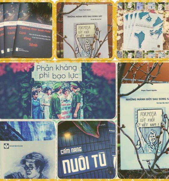 Một số đầu sách của Nhà xuất bản Tự Do. Ảnh: Facebook NXB Tự Do.