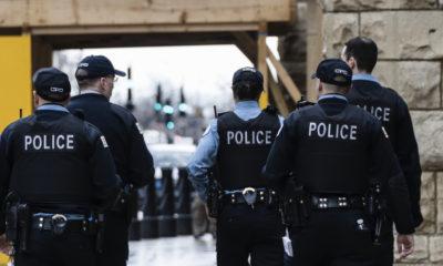 Một nhóm cảnh sát ở thành phố Chicago, Mỹ, năm 2011. Ảnh: iStock.