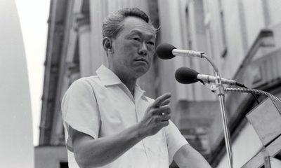 Thủ tướng Singapore Lý Quang Diệu. Ảnh: Chưa rõ nguồn.