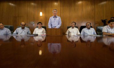 Thủ tướng Lý Hiển Long và một số thành viên nội các năm 2016. Ảnh: MCI.